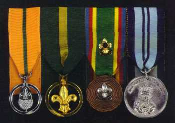 [Photo of Medals]